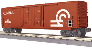 30-74851 O Scale MTH RailKing 50' Double Door Plugged Boxcar-Conrail