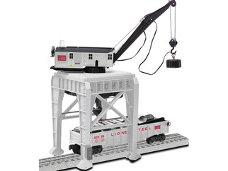 6-82022 O Scale Lionel Command Control Gantry Crane-Lionel Steel