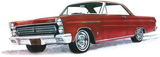 1210 Moebius 1965 Mercury Comet Cyclone 1/25 Scale Plastic Model Kit