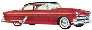 1213 Moebius 1954 Hudson Hornet Club Coupe 1/25 Scale Plastic Model Kit