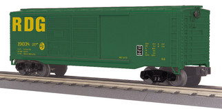 30-74859 O Scale MTH RailKing 40' Double Door Box Car-Reading