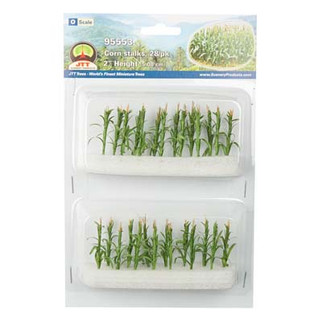 95553 O Scale JTT Corn Stalks (28 Pk)