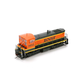 98134 HO Scale Athearn SW 1000 locomotive-BNSF #3652