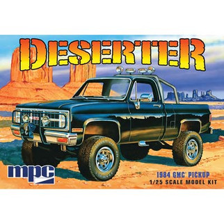 MPC848 MPC Deserter 1984 GMC Pickup 1/25 Scale Plastic Model Kit