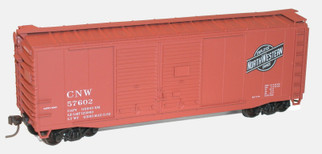 36121 HO Scale Accurail 40' Double Door Boxcar Kit-Chicago & North Western
