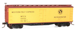 48032 HO Scale Accurail Wood Refrigerator Car Kit-Western Fruit Express