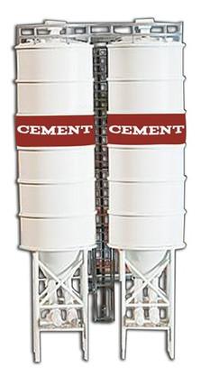 186 HO Scale Model Power 2 Industrial Silos Kit