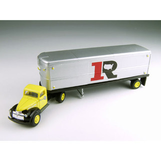 31167 HO Scale Classic Metal Works 41/46 Chevy Tractor/Trailer Set-Ryder