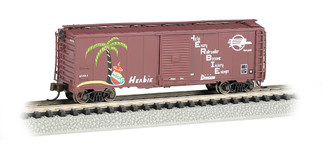 """17060 N Scale Bachmann 40' Box Car Missouri Pacific """"Herbie"""""""