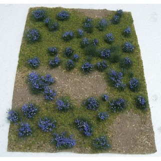 "95606 JTT Scenery Landscape Detailing Flowering Meadow Purple 5"" X 7"""