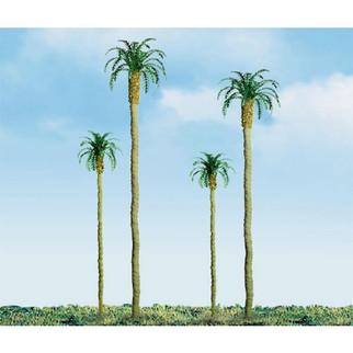 "94239 HO Scale JTT Scenery 4"" Palm Trees 3/pk"