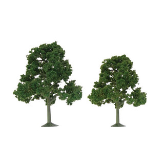 "92108 HO Scale JTT Scenery Scenic Deciduous 3.5"" to 4"" Tall 4/pk"