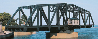 933-3088 HO Scale Walthers Cornerstone Double-Track Railroad Swing Bridge