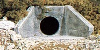 C1262 Woodland Scenics HO Scale Concrete Culvert(2 each)