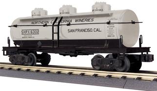 30-73501 O Scale MTH RailKing 3-Dome Tank Car-California Wine
