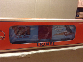 6-19950 O Scale Lionel 9700 I Love Montana Box Car