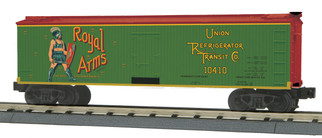 30-78194 O Scale MTH RailKing 40' Woodsided Reefer Car-Royal Arms