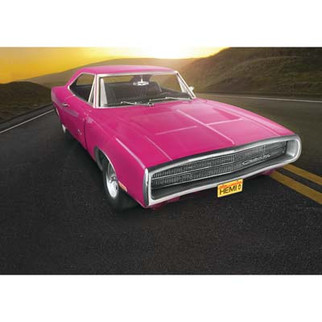 85-4381 Revell 1970 Dodge Charger R/T 1/25 Scale Plastic Model Kit