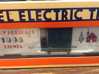 6-19938 O Scale Lionel Christmas Box Car 1995
