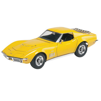 85-4411 Revell '69 Corvette Coupe Yenko 2' n 1 1/25 Scale Plastic Model Kit