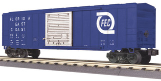 30-74895 O Scale MTH RailKing 50' Modern Box Car-Florida East Coast