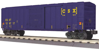30-74892 O Scale MTH RailKing 50' Modern Box Car-CSX