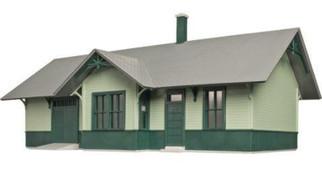 6915 O Scale Atlas Riverton Station Kit