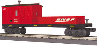 30-79554 O Scale MTH RailKing Crane Tender Car-BNSF