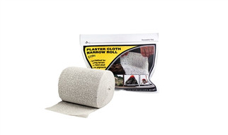 C1191 Woodland Scenics Plaster Cloth Narrow Roll