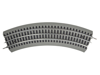 6-81862 O Scale Lionel FasTrack O-31 Curved Track 4-Pack