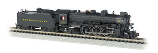 52851 N Scale Bachmann PRR K4 4-6-2 Steam Locomotive Post-War w/Modern Pilot #1361