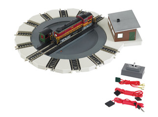 46799 HO Scale Bachmann Motorized Turntable E-Z Track