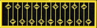 2685 N Scale Tichy Train Group Warning Signs
