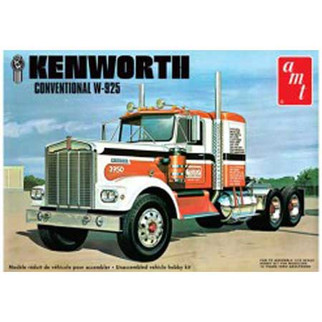AMT1021 AMT Kenworth Conventional W-935 Tractor 1/25 Scale Plastic Model Kit
