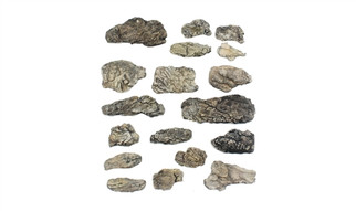 C1140 Woodland Scenics Ready Rocks Surface Rocks