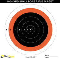 small bore paper shooting target