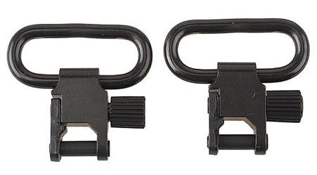 uncle mikes 1 1/4 inch qd quick detachable super swivels gun slings