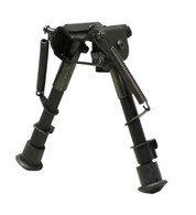 max-hunter 6-9 swivel bipod spring loaded notched legs