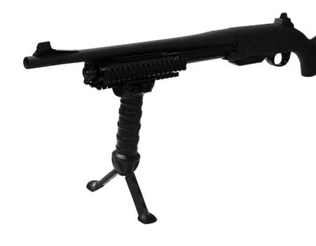 tactical quick release bipod grip