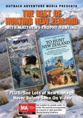 hunting new zealand hunt dvd movie shooting