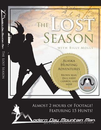 billy molls alaskan hunting adventure shooting lost season caribou brown bear wolf