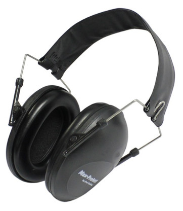 earmuff protection ear passive 21db NRR black shooting shotgun
