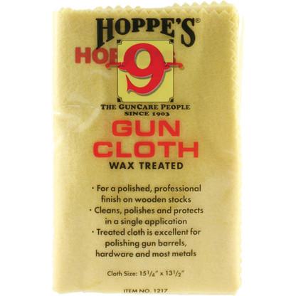 Hoppes 9 Wax Treated Gun Cloth