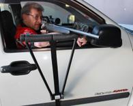 Car Door Mounted Shooting Rest