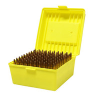 Max-Comp Large Plastic Rifle Ammo Box - 100 Round - .308, .30-06, .22-250 etc