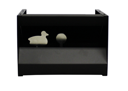 air rifle knockdown target pellet trap duck