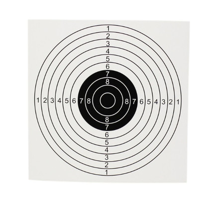 air rifle pellet trap spare target bulk pack