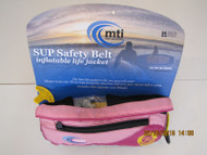 MTI Lightweight Inflatable SUP Safety Belt Pink/Berry