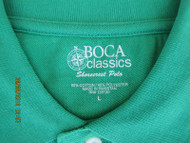 Wakooda Men's Shorecrest Polo  -  Deep Mint Green