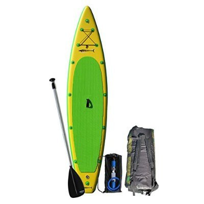 The GT150 package includes the board, 2 piece Bravo adjustable SUP paddle, Bravo HD inflation pump, back pack and patch kit.  All and more fit in the back pack for easy storage and transport.
